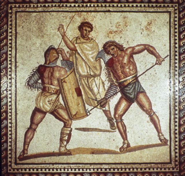 a history of the gladiators of roman times