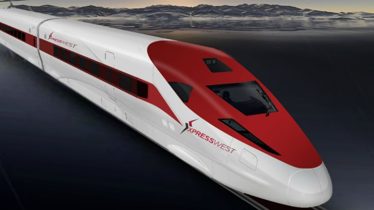 High-Speed Rail To Be Introduced Between LA And Las Vegas-1