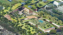 New Plan Proposes World's Largest Green Roof In Cupertino-5