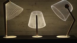 The Stunning 3D Optical Illusions Of The New BULBING Lamps-1