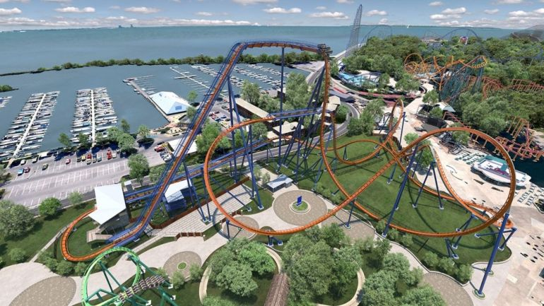 Valravn_Rollercoaster_World_Record_Cedar_Point_1