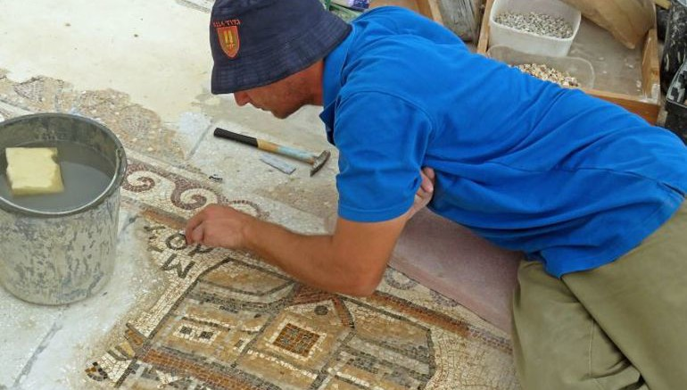 1,500-Year-Old Mosaic Contains Map of Ancient Egyptian City-3