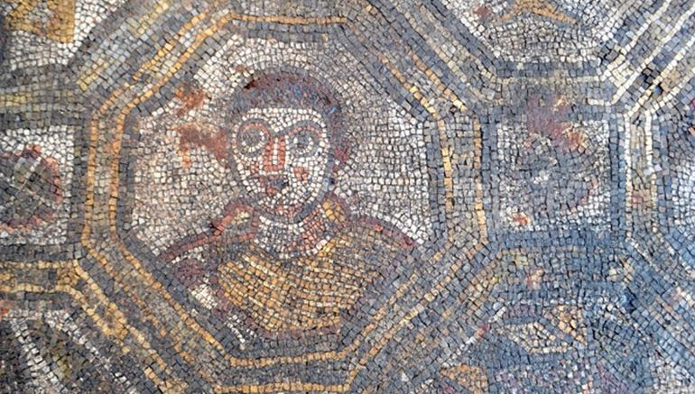 Archaeologists Uncover Ancient Roman Mosaic In Tuscany, Italy-1