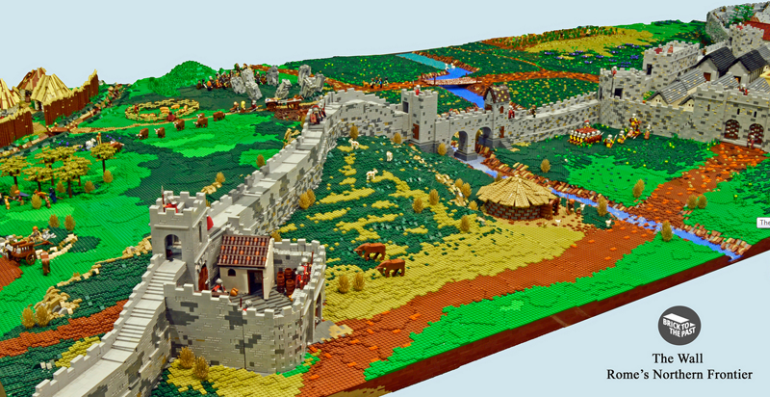 British Enthusiasts Recreate The Roman Empire Using LEGO!-1