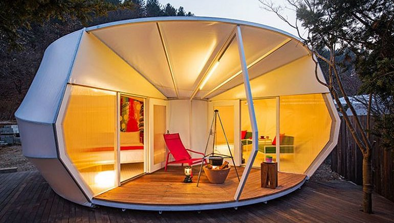 Go Glamping With These Glamorous Tents By ArchiWorkshop-2