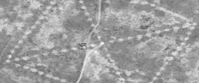 NASA Captures Images Of Ancient Geoglyps in Kazakhstan-1