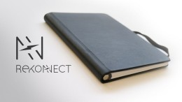 Rekonect World's First Magnetic Notebook With Removal Pages-1