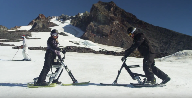 The New SNOGO Bike Combines Skiing And Mountain Biking-10