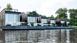 These Floating Cabins Overlook The River Kwai In Thailand-1