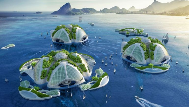 Architect Envisions Future Underwater City Built From 3D Printed Waste 2
