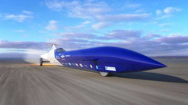 Australia Aims To Set Land Speed Record With This Rocket-Powered Car-3