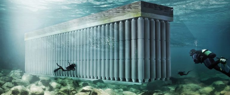 Netherlands Firm Designs Floating Sea Wall That Harvests Wave Power-1