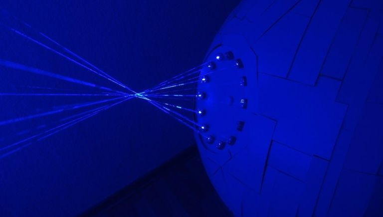 Patrick Priebe_DIY_Death_Star Shoots_Laser_1