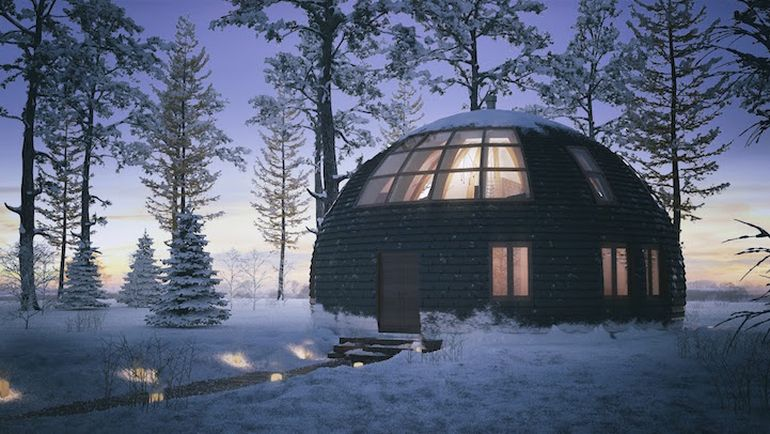 This Low-Rise Dwelling Can Withstand Up To 1,500 Pounds Of Snow-1