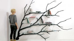 Bilbao_Bookshelf_Created_From_Fallen_Tree_Branch