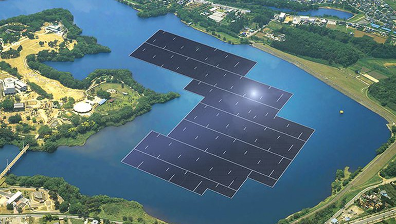 Japan To Welcome World's Largest Floating Solar Power Plant-1