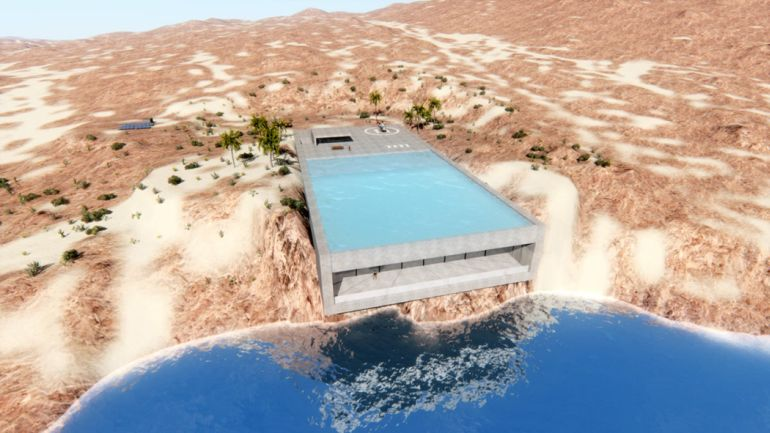 Aqua Casa A Desert Home That Produces All The Energy It Requires-5