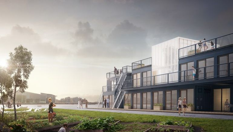 Copenhagen To Build Student Homes Using Repurposed Shipping Containers-3