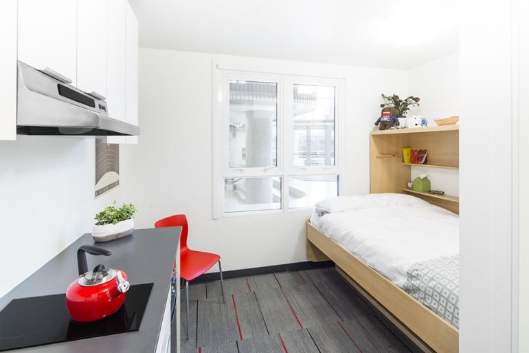 Nano Living Makes Its Way To Canada With 140-Sq-Ft Student Homes-10