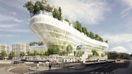 Paris To Get Tree-Topped Residential Complex That Looks Like A Ship-3