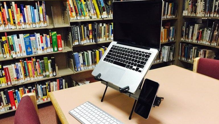 X Stand Promises Reduced Eye Strain And Back Pain While Working-9
