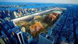 Central Park Envisions As Expansive Bedrock-Covered Landscape-1