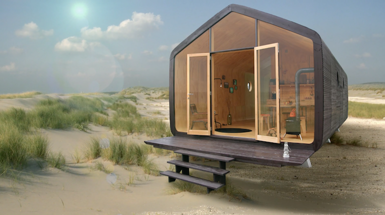 Build A Modular Home designers build modular homes using recyclable cardboard