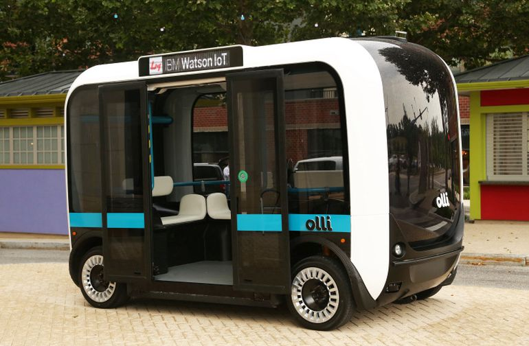 Meet Olli, A Self-Driving Minibus That Can Be 3D-Printed In Hours-3