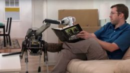 Boston Dynamics' Adorable SpotMini Robot Does Household Chores-1