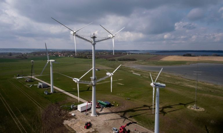 Danish Company Builds Innovative Wind Turbine With 12 Blades-3