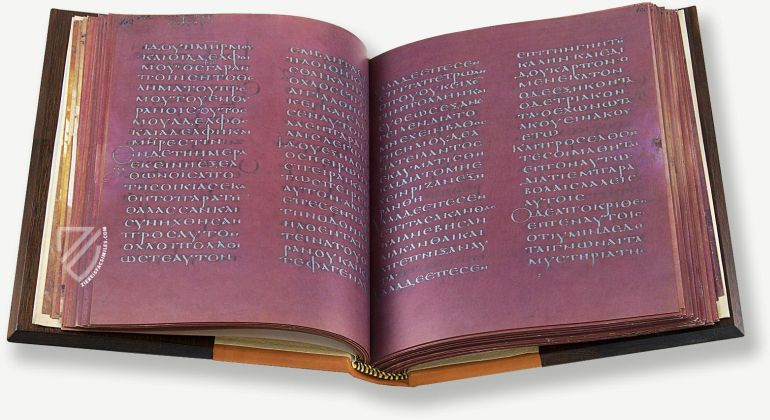 Purple Pages Of New Testament Manuscript Were Dyed With Urine-4