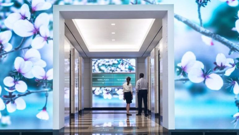 This Building Features Walls Fitted With Motion-Sensing Displays-3