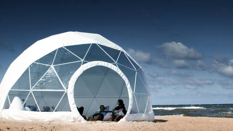 F.Domes Unveils Geodesic Domes That You Can Set Up Within Hours-7