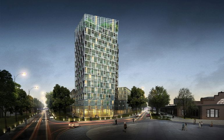 Germany To Get Brilliant Solar-Powered, Battery-Run Smart Green Tower-1