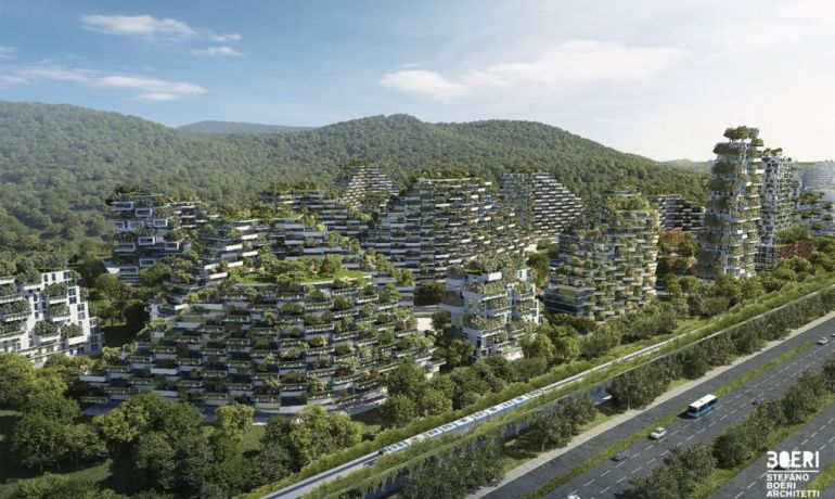 Italian Architect Stefano Boeri To Build World's First Forest City In China-3