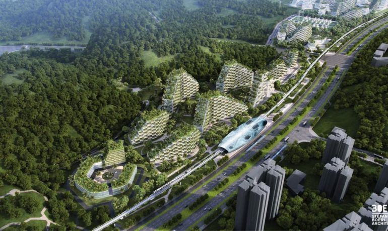 Italian Architect Stefano Boeri To Build World's First Forest City In China-5