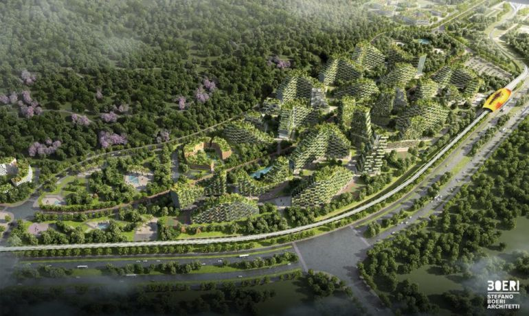 Italian Architect Stefano Boeri To Build World's First Forest City In China-6