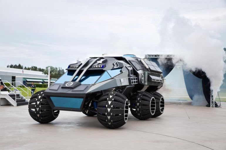 This Batmobile-esque Behemoth Is NASA's Latest Mars Rover Concept-2
