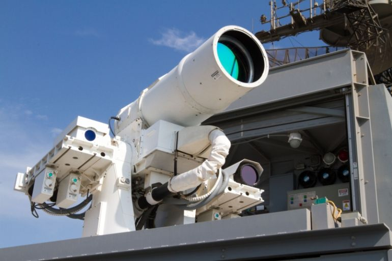 Watch Laser Weapon System (LaWS) Destroys Distant Target In Seconds-2